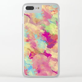Abstract 40 Clear iPhone Case
