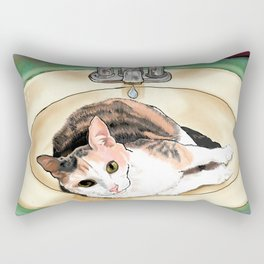 Catrina in the Sink Rectangular Pillow