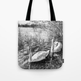 Swan Lake Art Tote Bag