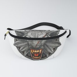 The Witcher Wolf Symbol Fanny Pack