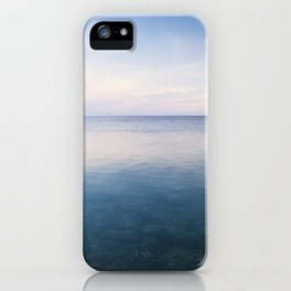 oh, Sea, how I love thee iPhone Case