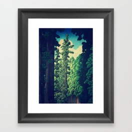 Under the cover of Yanakaden Framed Art Print