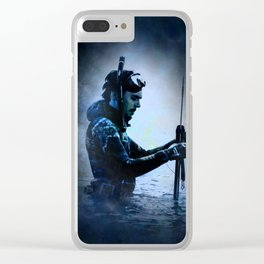 The Water Bearer Clear iPhone Case