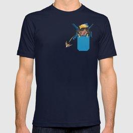 Pocket attack pharah T-shirt