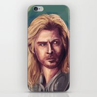 thor iPhone & iPod Skins featuring Thor by pandatails
