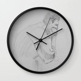 Matthew Sulking Wall Clock