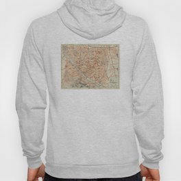 Vintage Map of Florence Italy (1895) Hoody