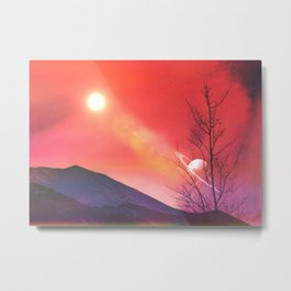 Olympia Mountains Metal Print