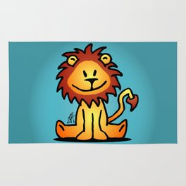 Cute little lion Rug