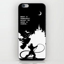 Castlevania iPhone Skin