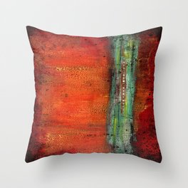 Copper Throw Pillow