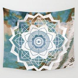 Nature Atmospheric Mandala Wall Tapestry
