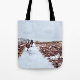 Horseback Tote Bag