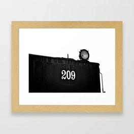 No 209 Spotlight Framed Art Print