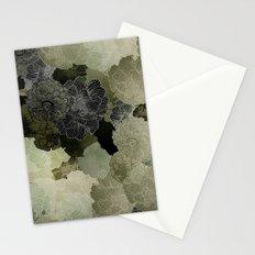 FLORAL OLIVE Stationery Cards
