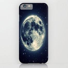 Just the moon iPhone Case