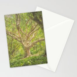 Forest watercolor painting #1 Stationery Cards