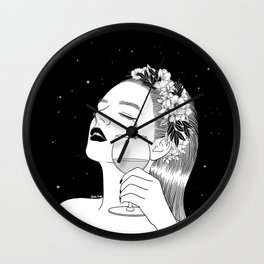 Cheers for tears Wall Clock