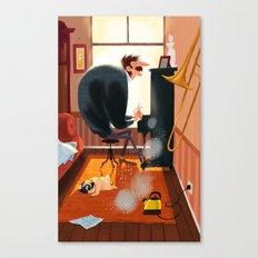 Piano time Canvas Print