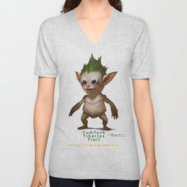 YT Troll - Revelations of Oriceran (C) Unisex V-Neck