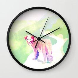 Ni ladro ni muerdo by #Bizzartino Wall Clock