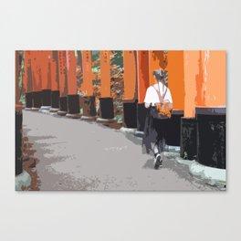 Fushimi Inari-taisha Canvas Print