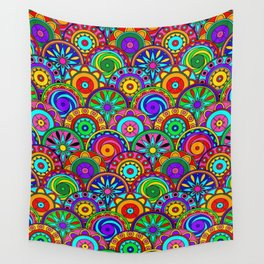 Merry Circles Wall Tapestry