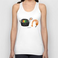 sushi Tank Tops featuring sushi by Sucoco
