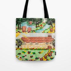 Wood Dominoes - Colour - #1 Tote Bag