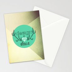 design is chic Stationery Cards