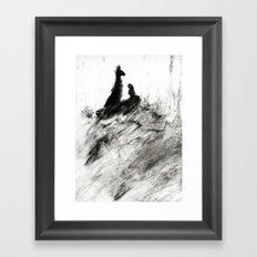 Dream view serie - Forest teaching Framed Art Print