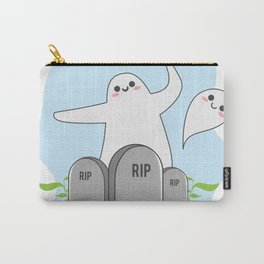 The Happy Ghost Carry-All Pouch