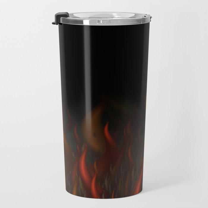 We Are All Burning Travel Mug