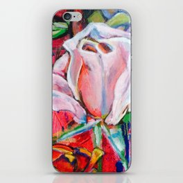Pink Rose by Toni Wright iPhone Skin
