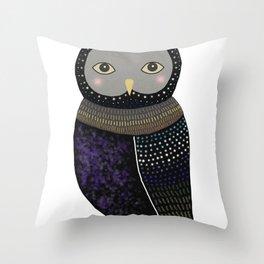 Owl-1 Throw Pillow