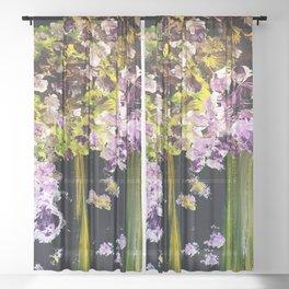 kaleidoscope dreams Sheer Curtain