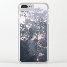 The mysteries of the morning mist Clear iPhone Case