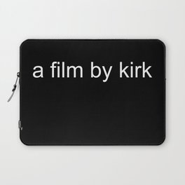 a film by kirk Laptop Sleeve
