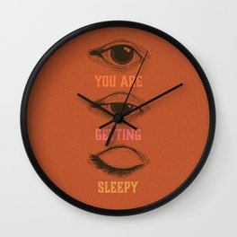 You are getting sleepy... Wall Clock