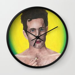 Dennis Reynolds (Work It) Wall Clock