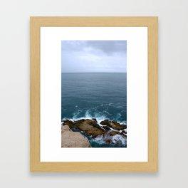 El Bistec Framed Art Print