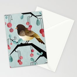 Bird, Watching Stationery Cards