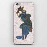 japanese iPhone & iPod Skins featuring japanese by Maria Durgarian