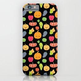 KAWAII FRUIT iPhone Case