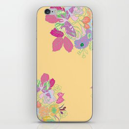 Petite Had Drawn Collection Bouquet iPhone Skin