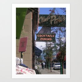 Downtown Anchorage Art Print