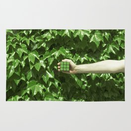 Green dreams Rug