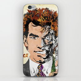 Two Face iPhone Skin