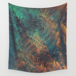 Lunar Topography Wall Tapestry