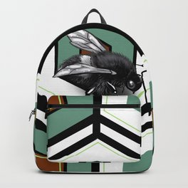 Pattern #25 with bee Backpack